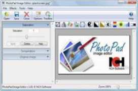 NCH PhotoPad Image Editor Professional v3 Windows XP/7/8