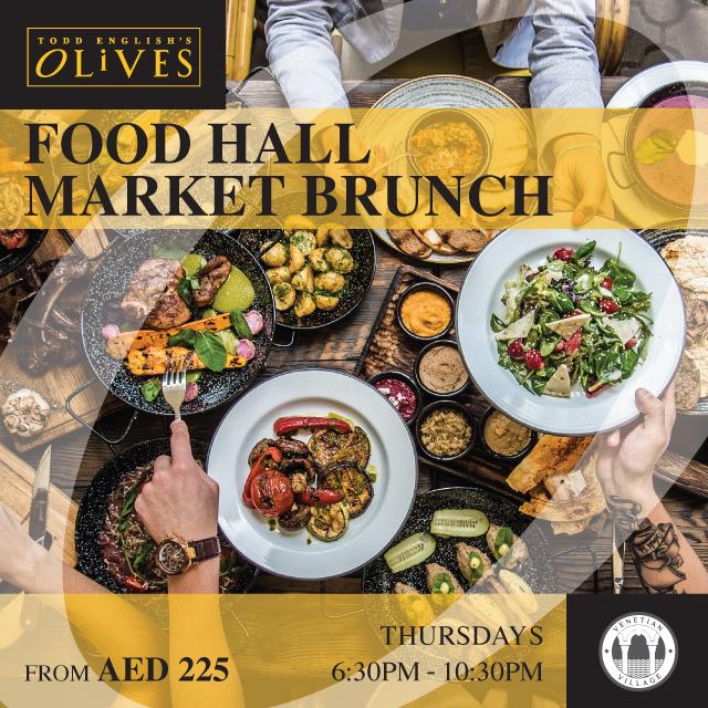 Food Hall Market Brunch